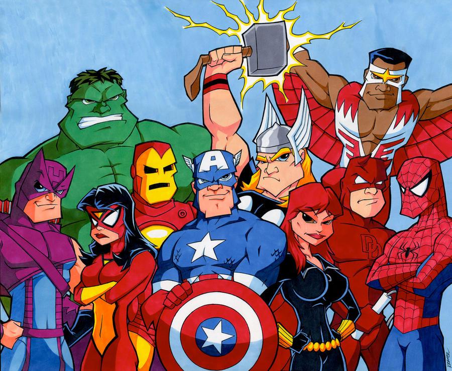 Avengers/Marvel Commission - Final by RobKramer
