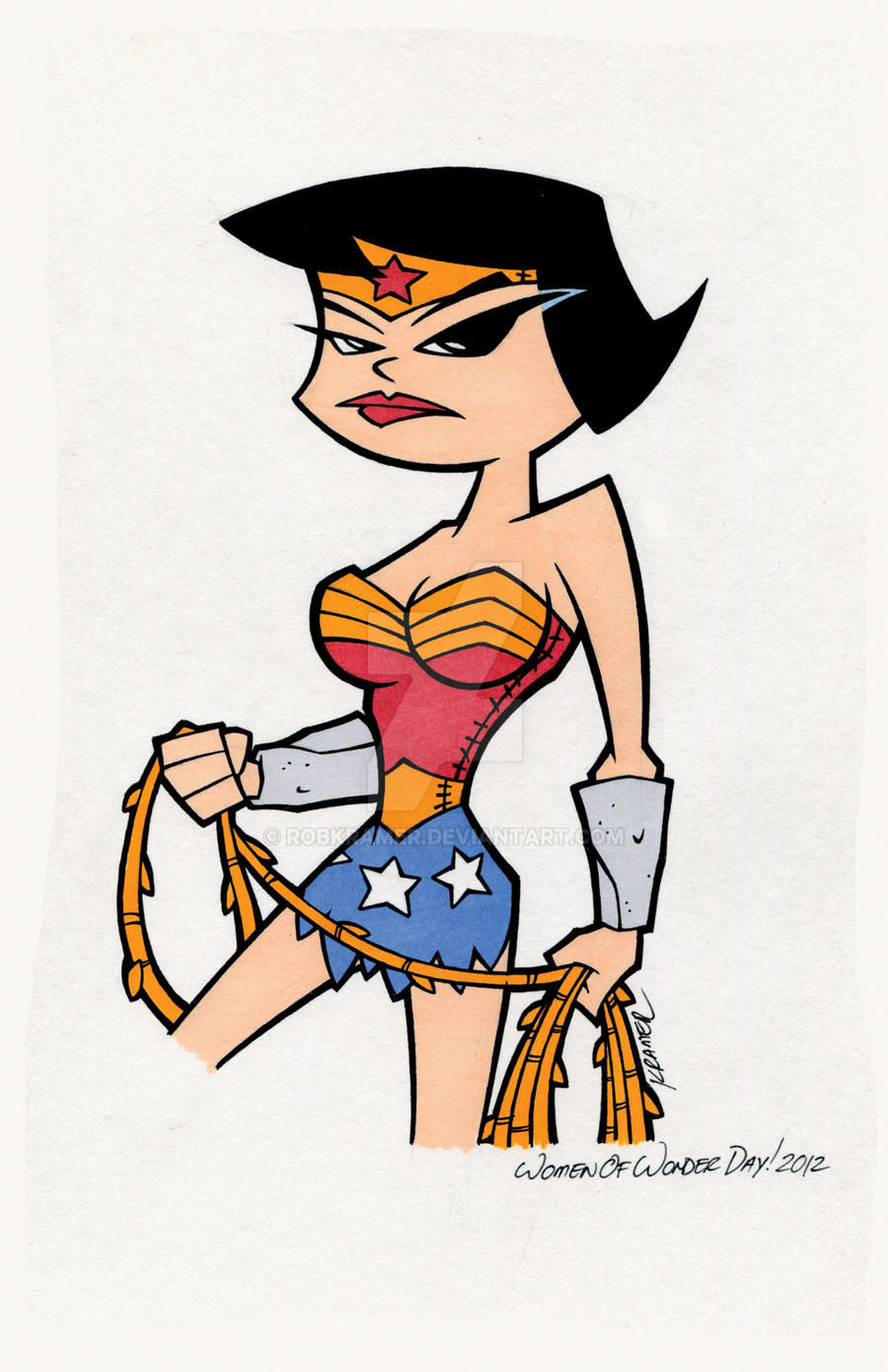 Wonder Betty by RobKramer