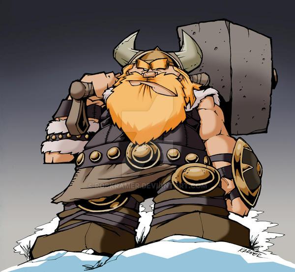 Viking, Character Design Challenge by RobKramer