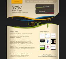 Webdesign - 'Y2K' by CybertronicStudios