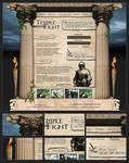 Webdesign - 'Temple Fight'