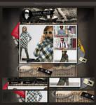 Webdesign - 'Urban Fashion'