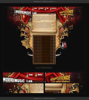 Webdesign - Movie Music Lab