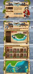Webdesign - 'Pirates Arena'
