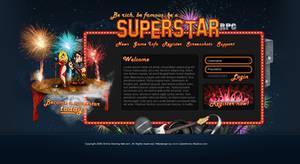 Webdesign - 'Superstar RPG'