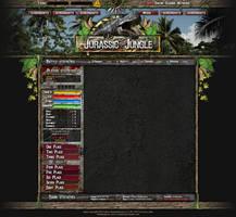Webdesign - 'JurassicJungle'