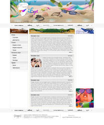 Webdesign - 'iEye'