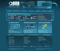 Webdesign - 'AMA Distributor'
