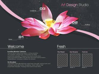 Webdesign - 'Fresh Art' by CybertronicStudios