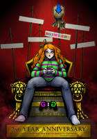 Throne of Vivian by ashion