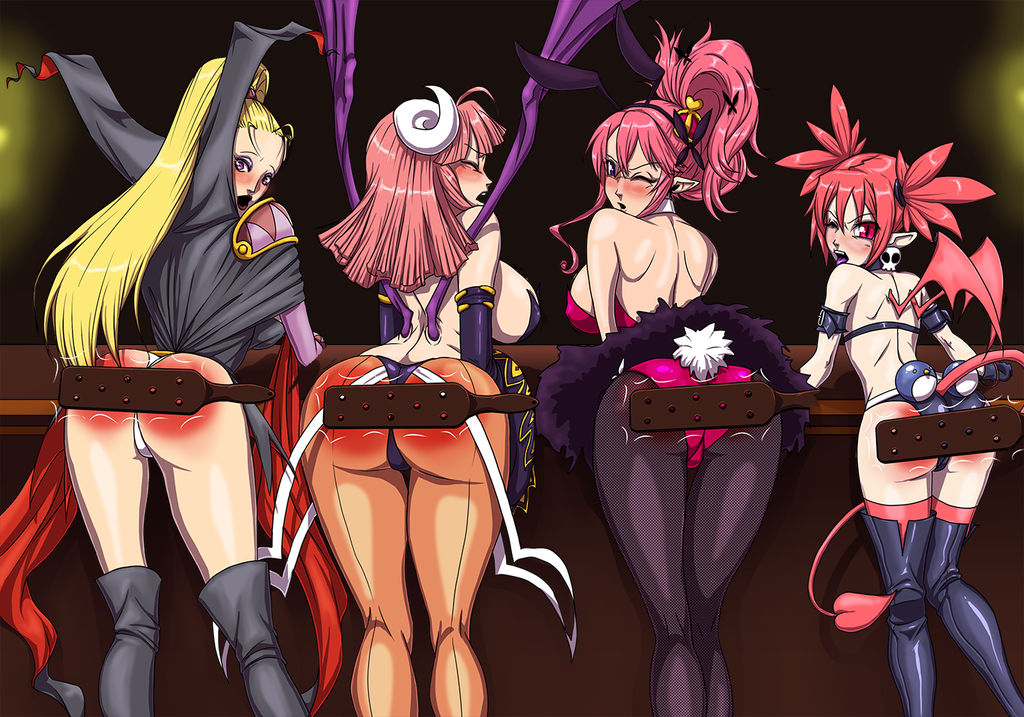 Girls spanking pictures Commission Bratty Girls Getting A Spanking By Ashion On Deviantart