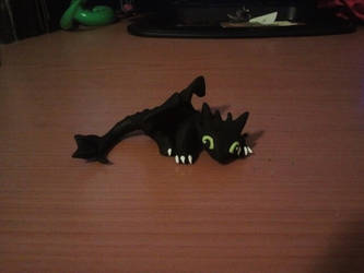 Little Clay Toothless