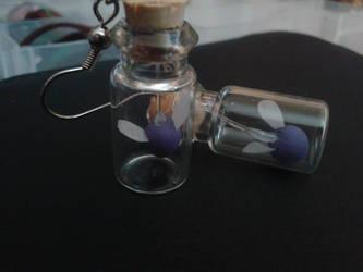 Faeries In a Bottle Earrings
