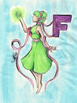 F is for Farore by StarlightShymmer