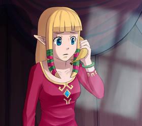 Taken 3 featuring Zelda by arkazain