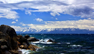 Early Spring Tahoe Scene
