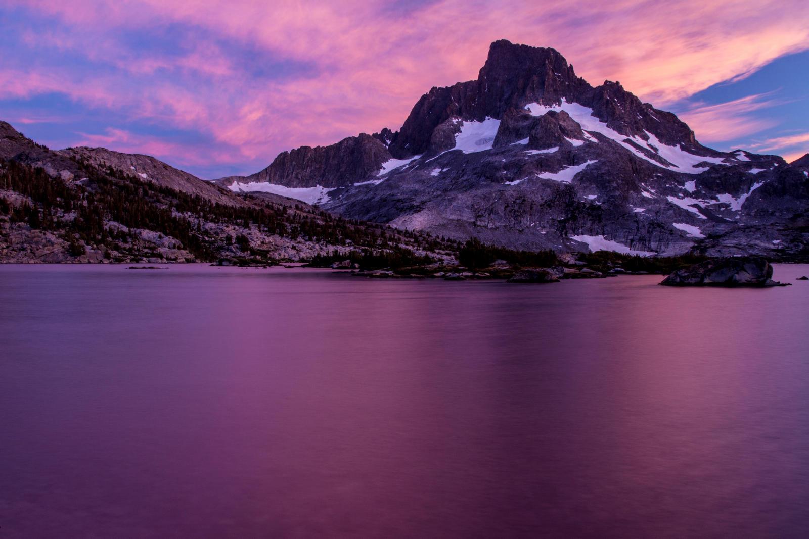 Banner Peak, CA by sellsworth