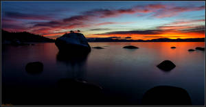 Evening at Tahoe's Bonsai Rock
