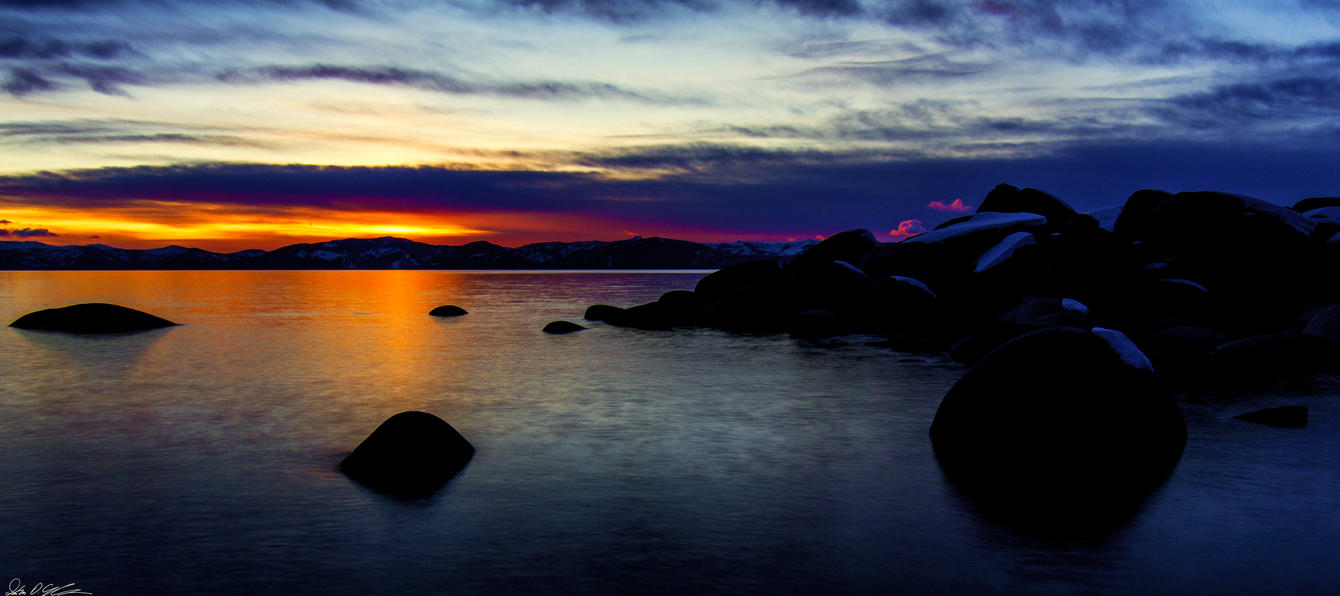 Tahoe Evening Color by sellsworth