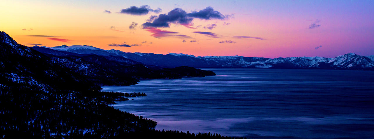 Tahoe Morning by sellsworth