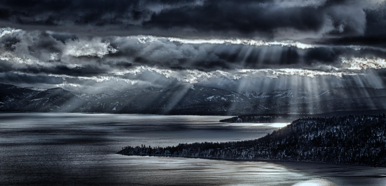 North Shore Lake Tahoe Late Afternoon by sellsworth