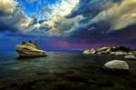 Colorful and Turbulent Skies at Tahoe
