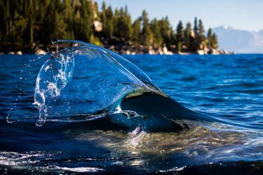 East Shore Tahoe Wave Art