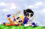 Naruto and Sasuke FLOWER POWER