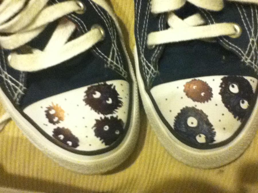 I've got Soot Sprites on my Feet! by mistwolf98