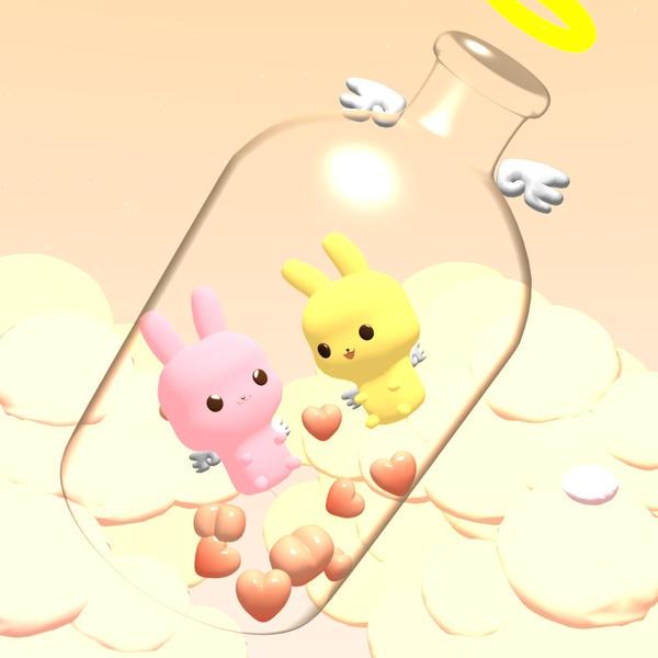 Love in a bottle 3D by odevi