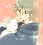 Harry and Sooty---for MEOW