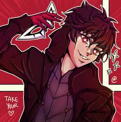 Joker in Smash Ultimate by Raemiie