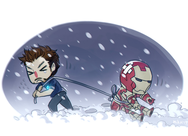 iron man 3 by Hosino-Hikaru