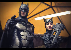 Lucca Comics and Games 2013 - Batman and Catwoman