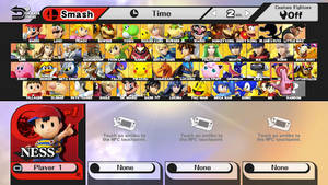 Super Smash Bros. for Wii U 50 Character's