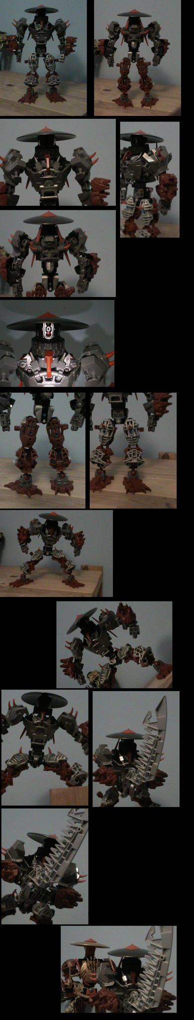 bionicle: krotton by CASETHEFACE
