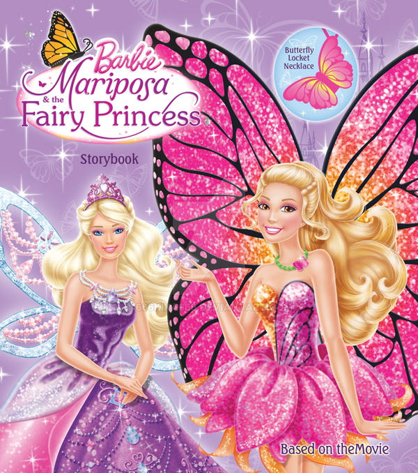 Barbie Mariposa Andthe Princess Kika On Deviantart Jpg 600x678 Barbie Mariposa Princess Wallpaper