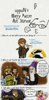 Harry Potter Meme - intense