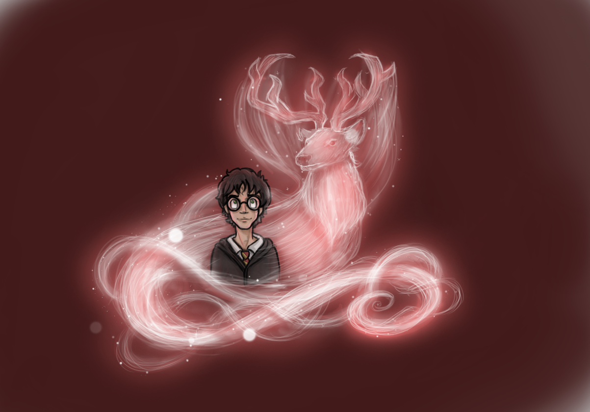Cool Wallpaper Harry Potter Expecto Patronum - expecto_patronum___harry_potter_by_drewsefske-d4rm7na  HD_73496.png