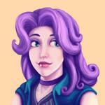 Stardew Valley Abigail Portrait