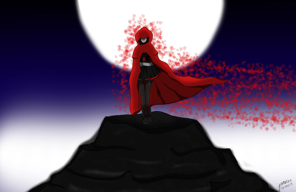 Ruby Rose R W B Y 1 Mod Preview: Ruby Rose By MsJorable On DeviantART