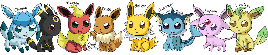 eeveelutions chibi wallpaper - photo #22