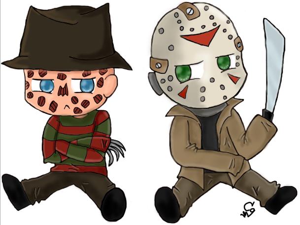 Chibi Freddy Vs Jason By ClearGuitar