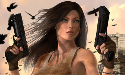 Girl with Pistols 2... Aicka by Pitoxlon