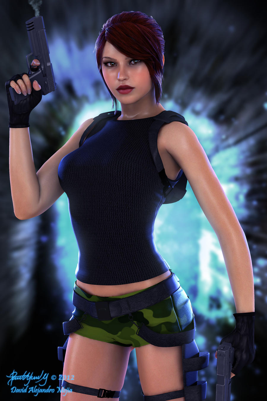 Lara Render 18 by Pitoxlon