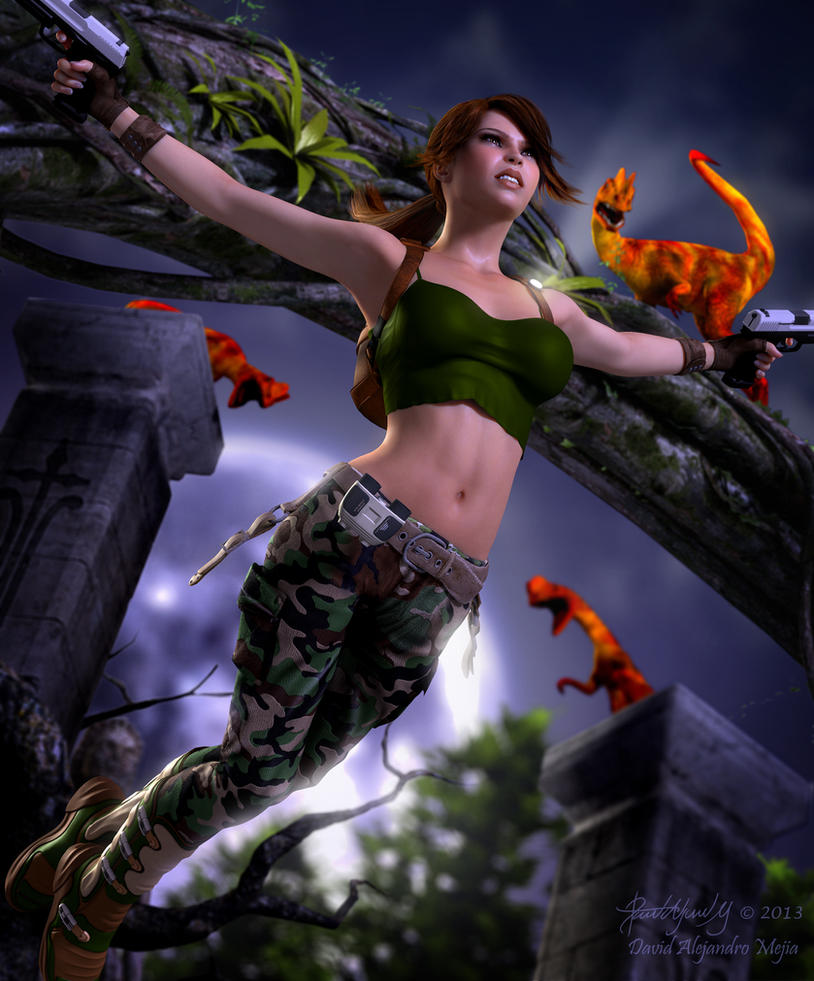 Lara Render 13 by Pitoxlon