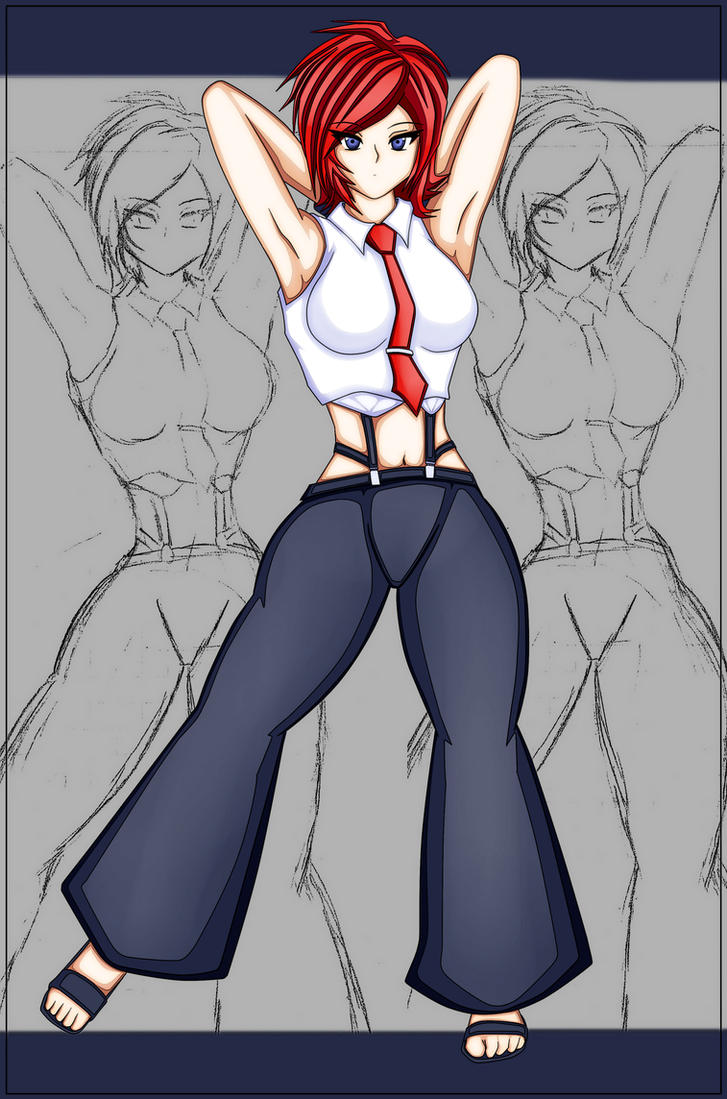 Vanessa from The King of Fighters XIV by BLISTERMETRAYAL