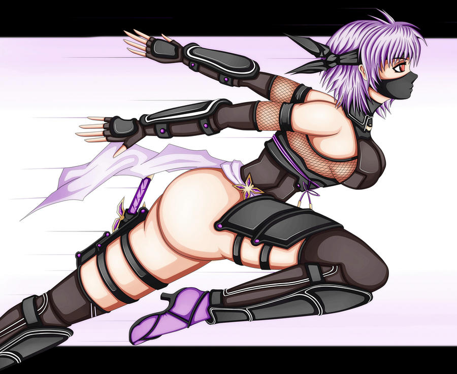 Ayane from Dead or alive 5 last round by BLISTERMETRAYAL