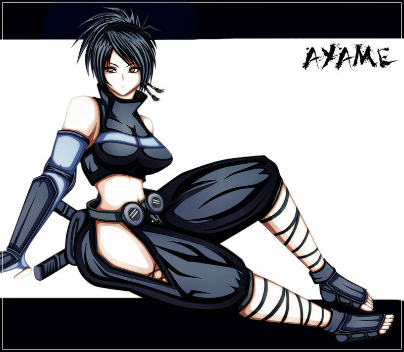 Ayame from Tenchu by BLISTERMETRAYAL