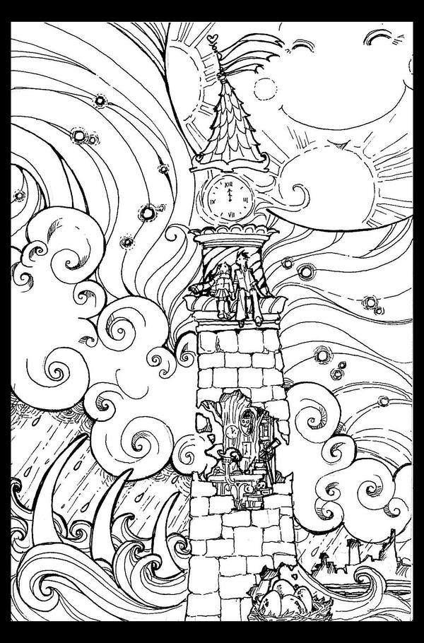 Lighthouse Uncolored By Alizarin On DeviantArt